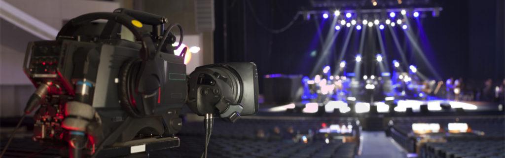 bühne kamera aufnahme