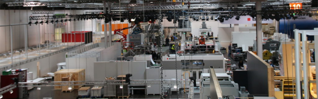 messe rigging motoren