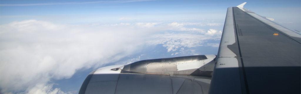 flugzeug wolken himmel sky airplane