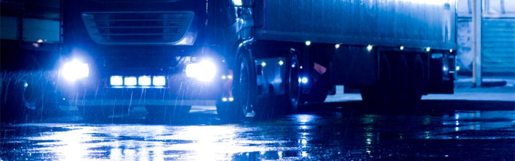lkw scheinwerfer logistik transport