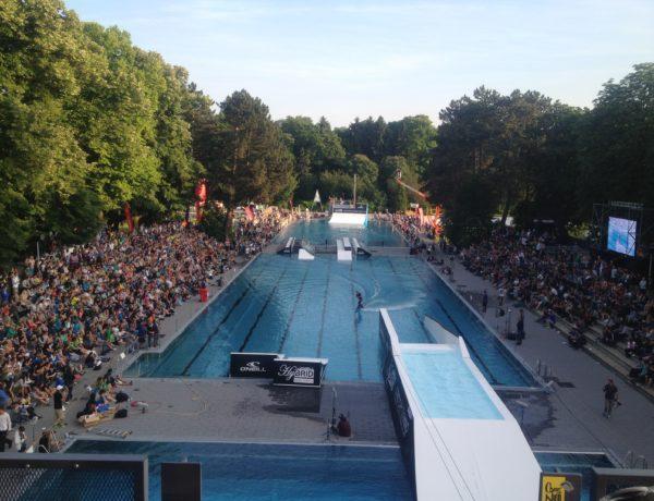schwimmbad wakeboard wasserski wasser
